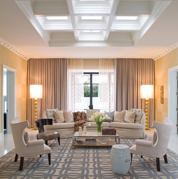 Interiors View In Gallery Sophisticated And Modern Twist To The Hollywood Regency Style