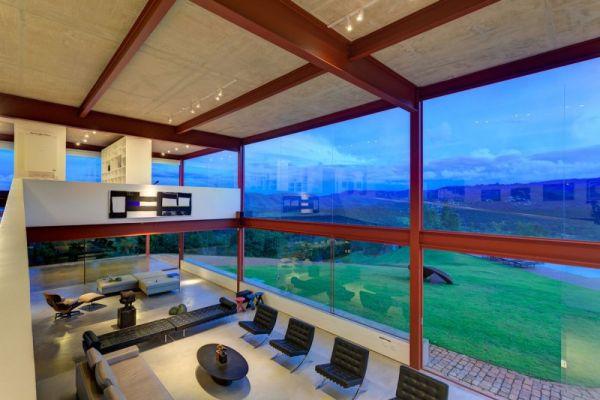 Spacious interiors of Nova Lima