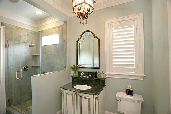 How to decorate a small bathroom for Elegant small bathrooms