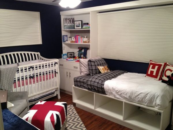Sporting the Union Jack in a modern nursery – Style statement for the tiny toddler!