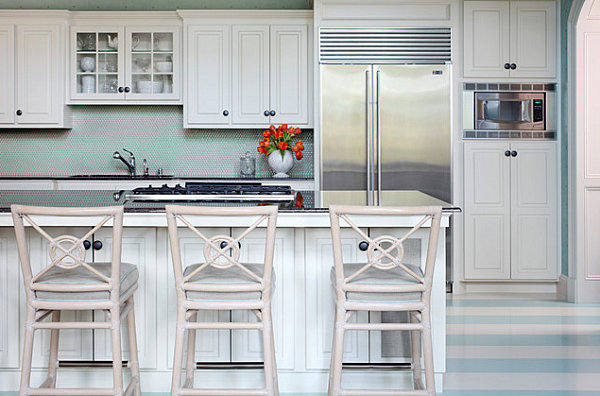 Stripes in the kitchen