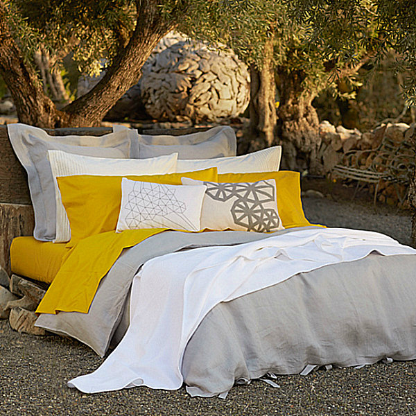 Sustainable modern bedding