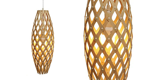 Sustainable modern pendant lighting