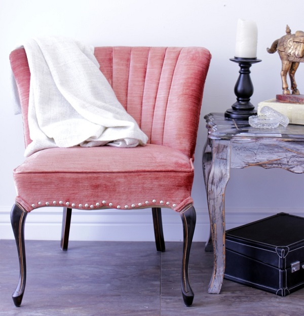 View in gallery Upholstered Chair 12. & Beautiful DIY Chair Upholstery Ideas to Inspire