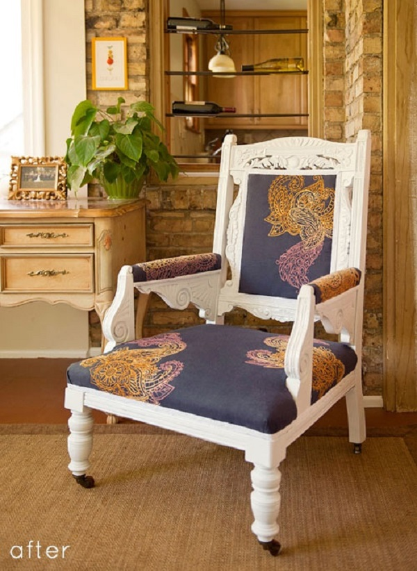 Upholstered Chair 4.