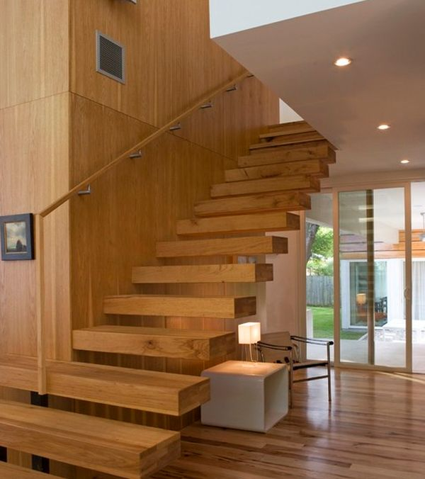 Suspended Style: 32 Floating Staircase Ideas For The ...