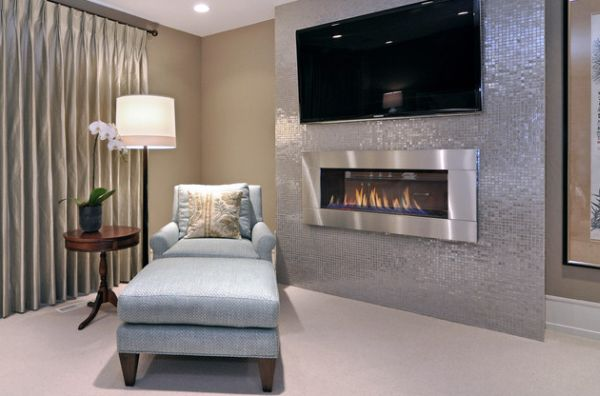fireplace modern design. View in gallery Vented gas fireplace perfect for the modern home 34 Modern Fireplace Designs With Glass For The Contemporary Home