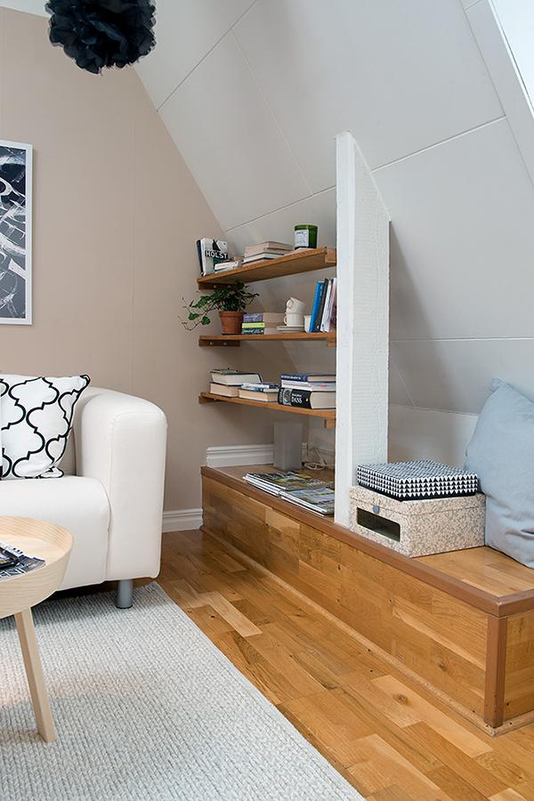 attic apartment interior design