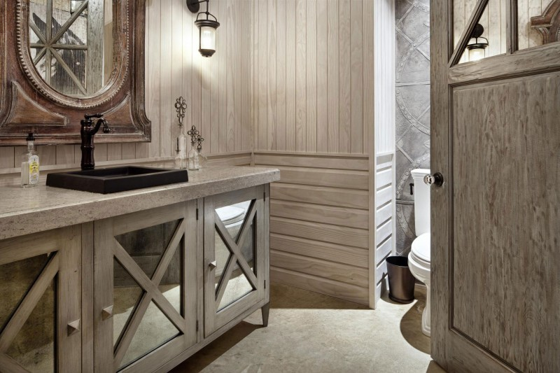 Rustic Bathroom Designs: Rustic Texas Home With Modern Design And Luxury Accents