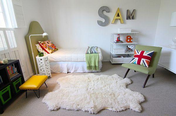 bedroom wall art - kids name tag