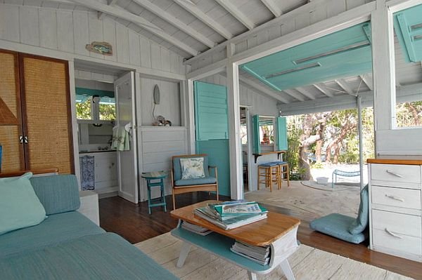 Five fun ways to convert to a caribbean styled room for Beach cabin designs