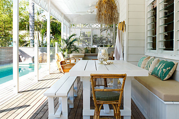 caribbean outdoor decor