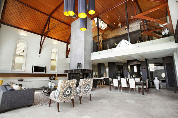 Superb ... View In Gallery Church Renovation Modern Home ...