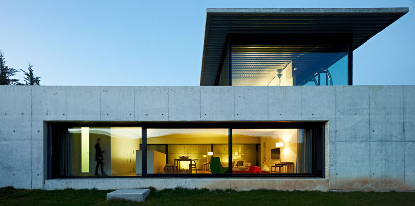 concrete house elevation