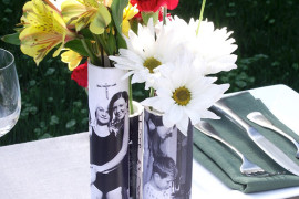 DIY Flower Vases That Are Chic & Fancy