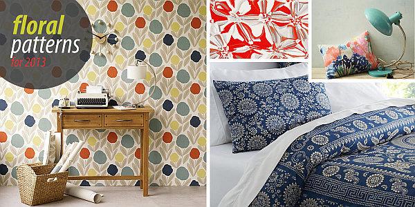 floral patterns 2013