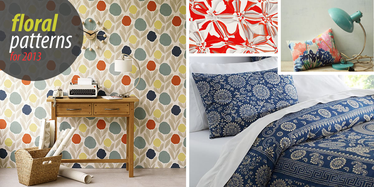 floral patterns trends 2013