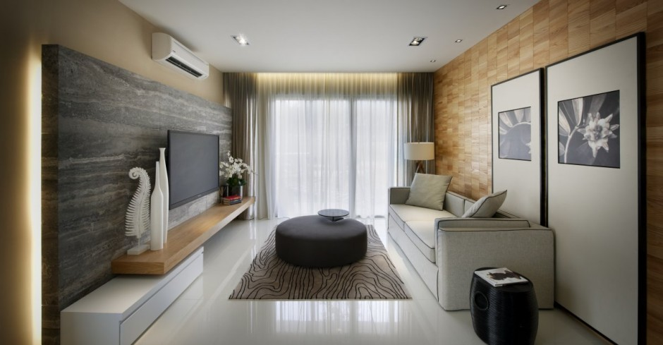 kuala lumpur apartment Project Vale From Blu Water Studio: Contemporary Interiors Infused With A Colorful Zest!