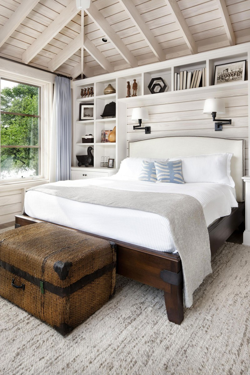 light filled bedroom