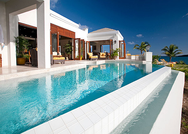 luxury caribbean villa