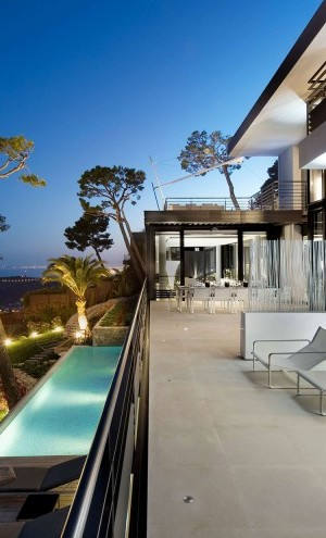luxury french villa design