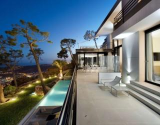 Exquisite French Villa Design in Villefranche sur Mer, Côte d'Azur