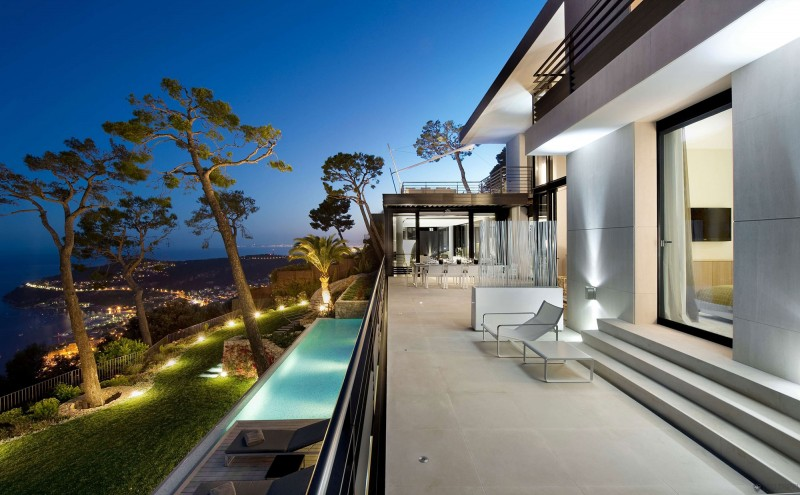 luxury french villa design Exquisite French Villa Design in Villefranche sur Mer, Côte dAzur