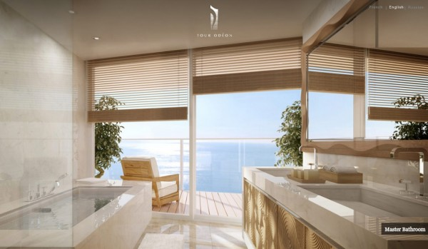 luxury penthouse monaco - bathroom