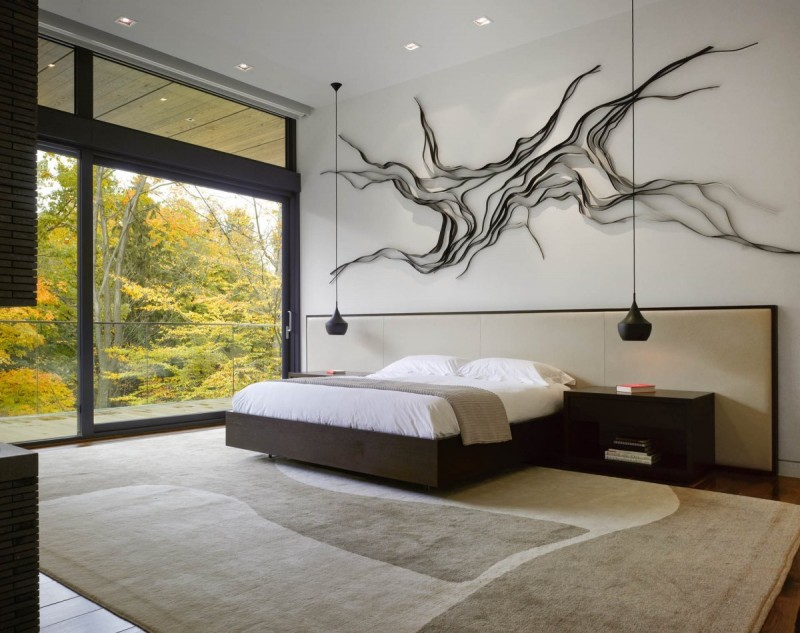 View In Gallery Mdern And Minimalist Bedroom Design