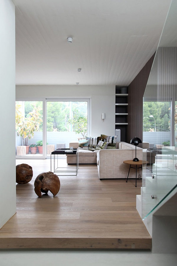 Modern Minimalist Living Room Design: Modern Greek Penthouse Design Beautified With Nordic