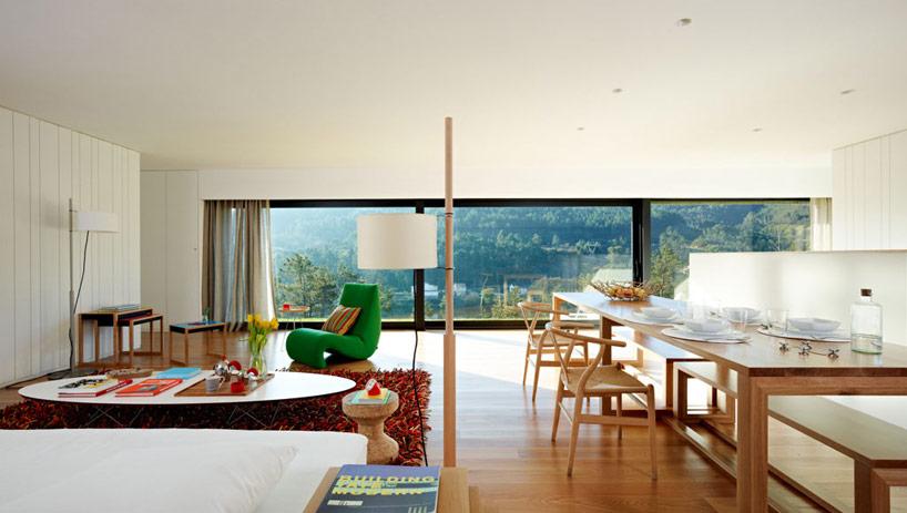 modern relaxing space