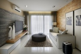 Project Vale From Blu Water Studio: Contemporary Interiors Infused With A Colorful Zest!