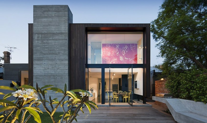 Colorful Interiors For a Classy Exterior: South Yarra Residence