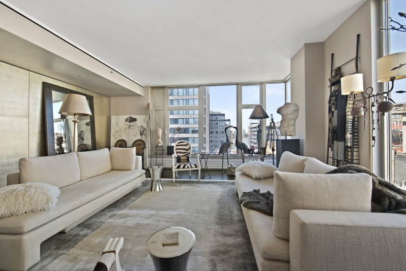 Sophisticated manhattan apartment design oozes for Nyc luxury condos for sale