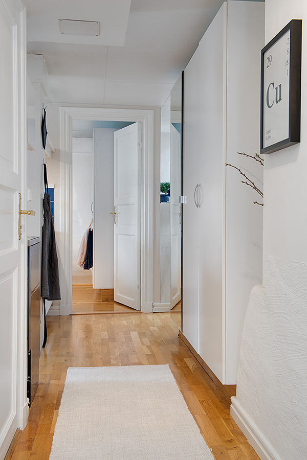 small apartment swedish design
