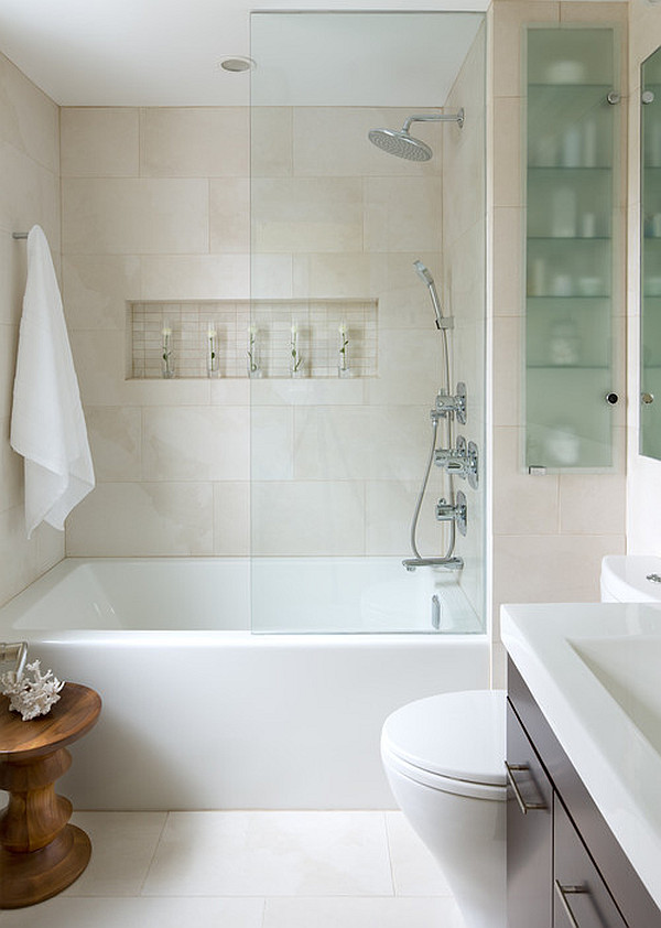 Decorate Small Bathroom Impressive Of Small Bathroom Tub Shower Photos