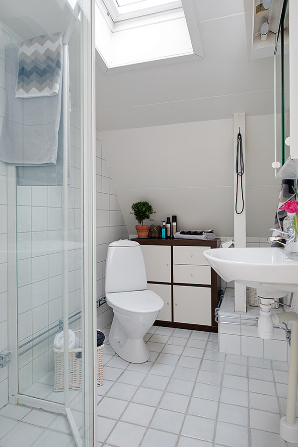 small bathroom design stockholm