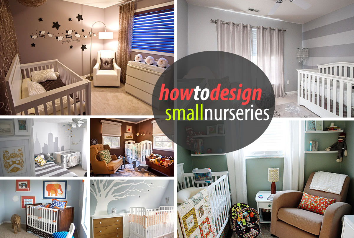 Studio Apartment Nursery tips for decorating a small nursery