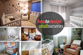Tips for Decorating a Small Nursery