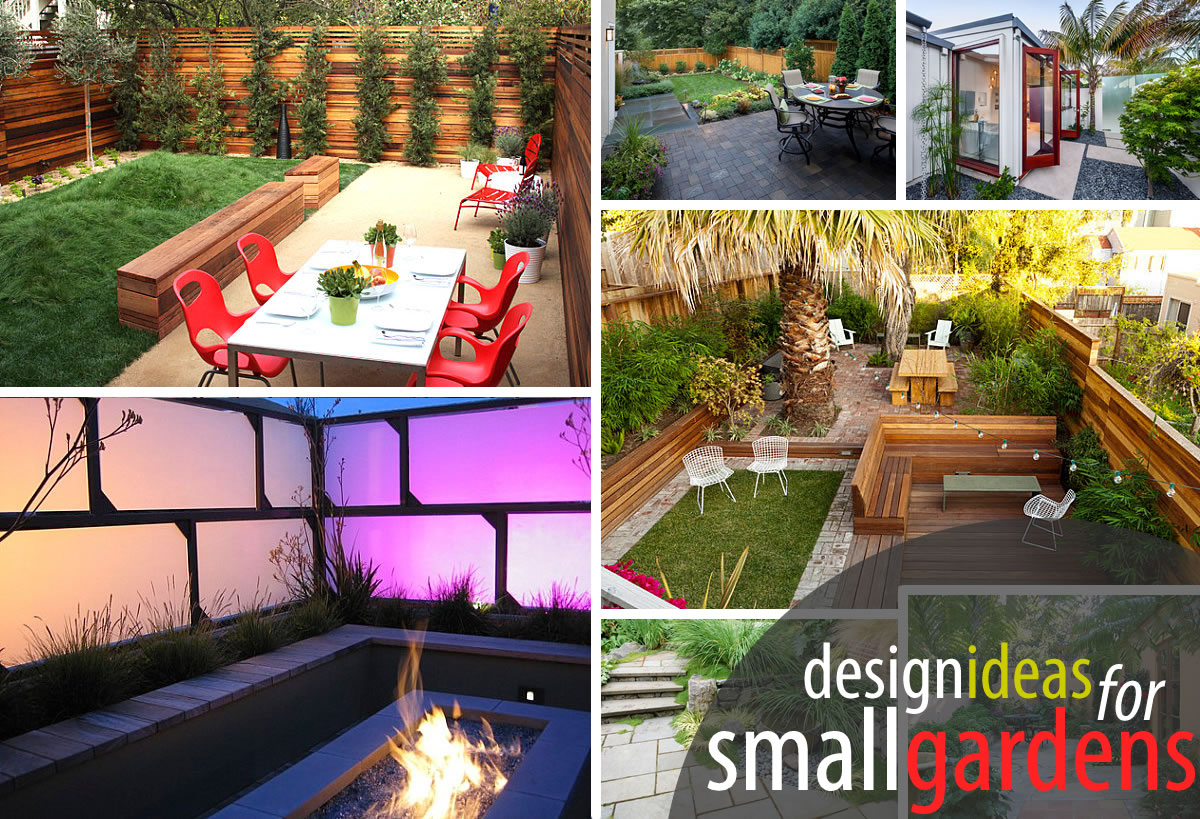 The art of landscaping a small yard for Garden design ideas for small backyards