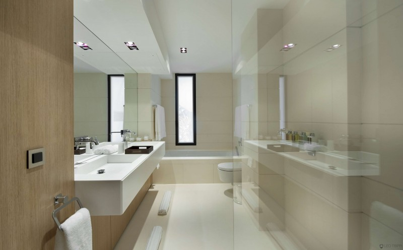 ultra modern bathroom