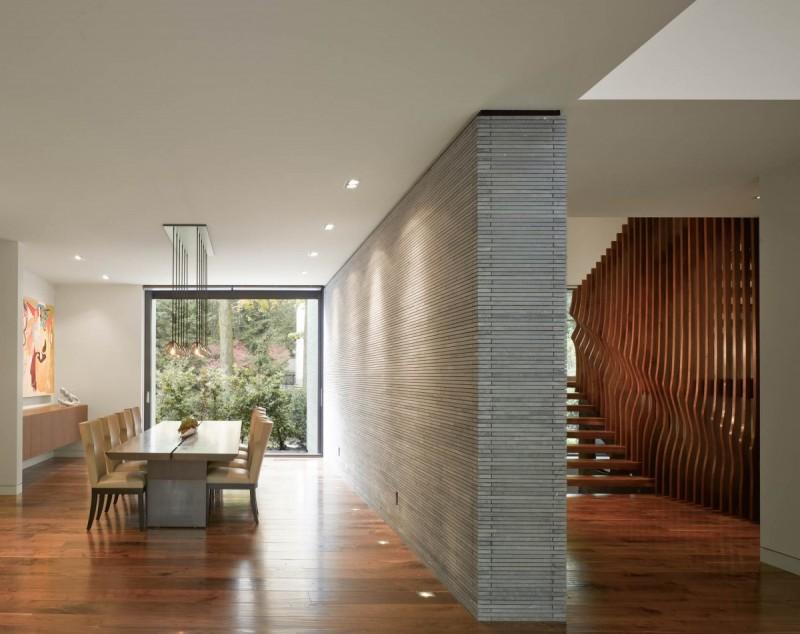 wooden design for entrance