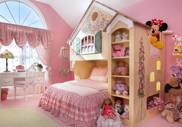 A perfect retreat in pink for your little princess