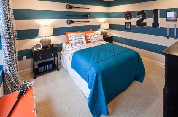 Add an exclusive shade of blue to give your kids' room an inimitable look