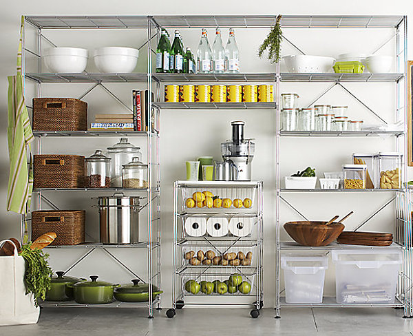 an organized pantry stylish food storage containers for the modern
