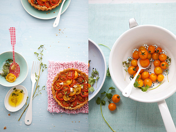 Beautifully photographed food