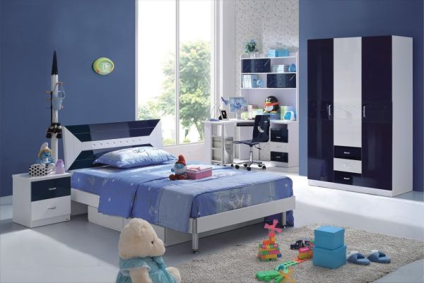Modern Blue And Black Bedroom modern blue bedroom ideas – laptoptablets