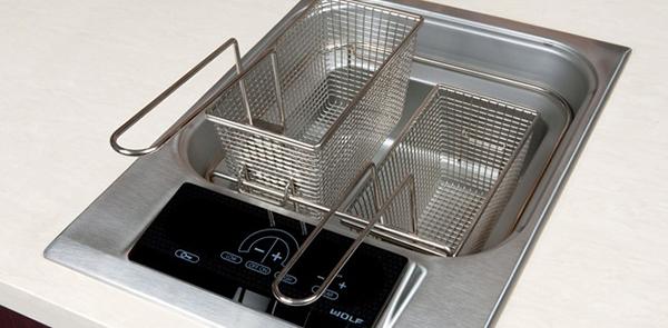 Built In Kitchen Fryer