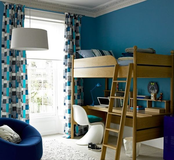 30 cool and contemporary boys bedroom ideas in blue for Cool blue bedroom ideas