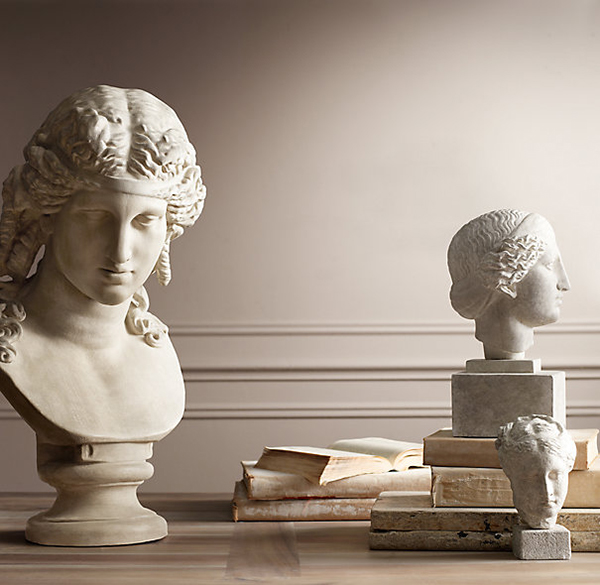 Bust of Ariadne Restoration Hardware Forecasted Trends for 2014